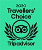 TripAdvisor Top Traveler's Choice for 2020